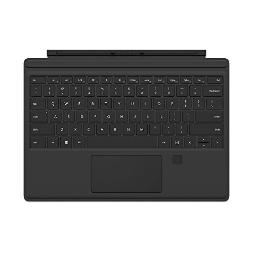 Microsoft Surface Pro Type Cover with Fingerprint ID Black