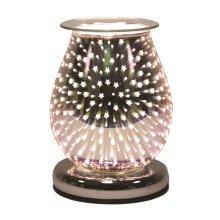 Aroma Oval 3D Electric Wax Burner, Shooting Star