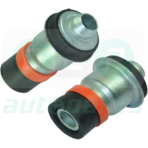 2 x FOR RENAULT CLIO MK3 MEGANE SCENIC MK2 2002-ON FRONT SUBFRAME REAR BUSH PAIR