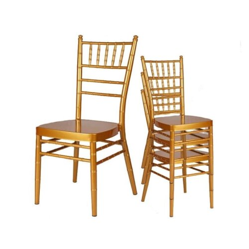 Gold Aluminum Chiavari Chair For Wedding Events Party