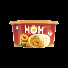M.O.M Instant Dal chawal, 1 Free Pickle Pack Comes Inside, Just Add Boiling Water, Ready in 8 Minutes