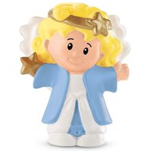 Fisher Price LITTLE PEOPLE Replacement Figures Nativity Manger Baby Jesus Mary , ANGEL