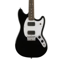 Fender Squier Bullet Mustang HH Electric Guitar, Black