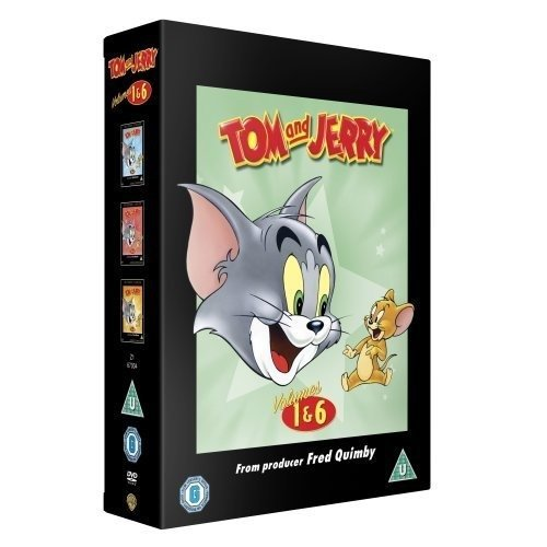 Tom And Jerry - Classic Collection - Volumes 1-6 DVD [2006]