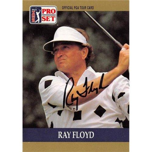 Autograph Warehouse 528007 Ray Floyd Autographed Trading Card - Golf, PGA Tour & North Carolina Tar Heels, SC 1990 Pro Set No.17
