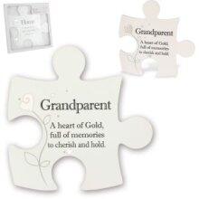 Said with Sentiment Jigsaw Art -Grandparent