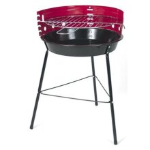 Portable 33cm Diameter Raised Barbecue | Outdoor Charcoal BBQ