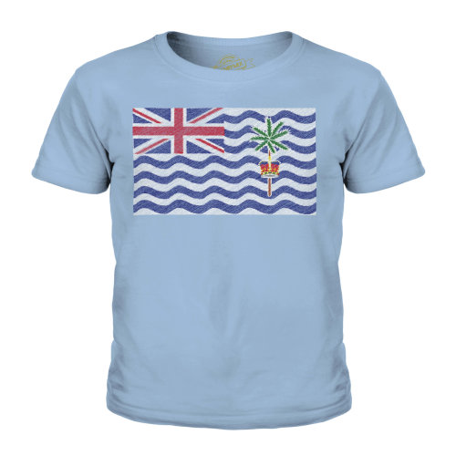 Candymix - British Indian Ocean Terrirory Scribble Flag - Unisex Kid's T-Shirt