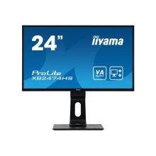 """Iiyama XB2474HS-B2 Prolite  Led Monitor 24"""" 23.6"""" Viewable 1920 X 1080 Full XB2474HS-B2"""