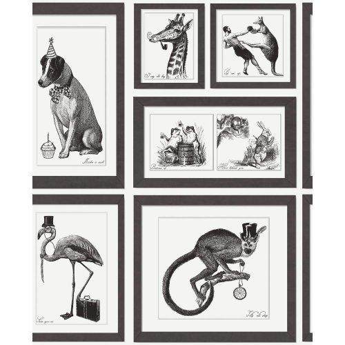 Holden Decor Mad Dogs 97920 Wallpaper | Framed Animals Wallpaper