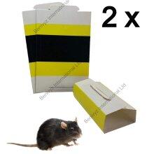 Mouse Sticky Glue Traps Pads MultiUse Rat Glue Trap Boards