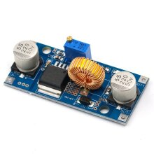 Step Down Adjustable Power Supply Module LED Lithium Charger With Heat Sink