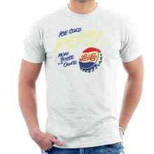Pepsi Cola Ice Cold Bottle Cap Men's T-Shirt