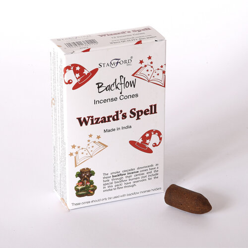 12x Wizards Spell Back Flow Incense Cones