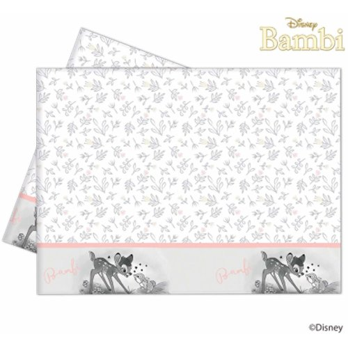 Disney Bambi Plastic Tablecover - Size 120 x 180cm