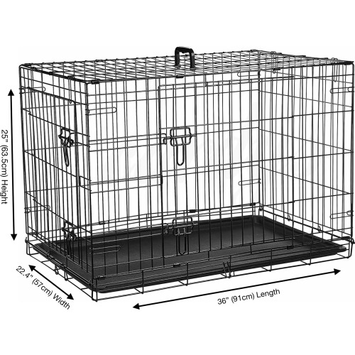 """(Large 36"""") Cardy's Dog Crate   Puppy Pet Carrier"""