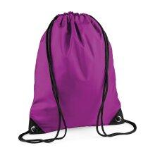 BagBase 11L Premium Gymsac Swimming Football Sports Gym Dance PE Drawstring Bag