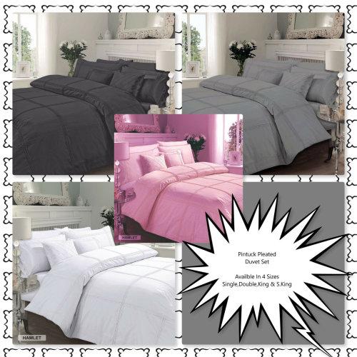 Luxury Hamlet Duvet Quilt Cover Bedding Set With Pillowcases
