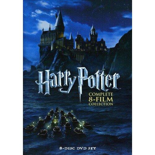 Warner Bros Harry Potter Complete 8-Film Collection   1-8 DVD Box Set