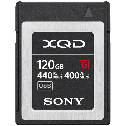 SONY XQD 120GB Memory Card G Series QD-G120F