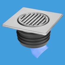 McAlpine 150mm S/S Tile Non-Return Valve Push Fit FGT150-SV-110