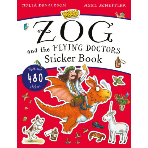 Zog and the Flying Doctors Sticker Book PB by Donaldson & Julia