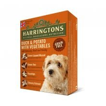 Harringtons Grain Free Duck & Potato with Vegetables, 8 x 400g