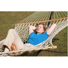 XL Organic Cotton Rope Hammock Double