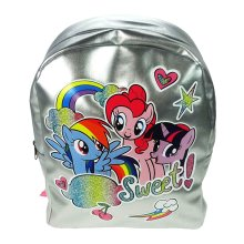 Children's My Little Pony Character Silver Backpack
