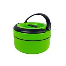 Portable Food Warmer/Lunch Box Thermal Insulated Food Container - Green
