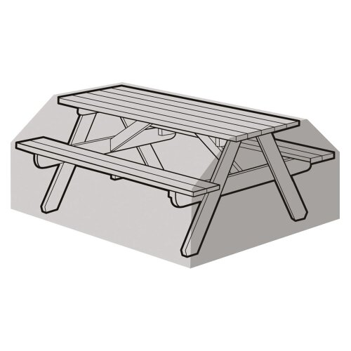 6 Seater Picnic Bench Cover - Super Tough Polyethylene