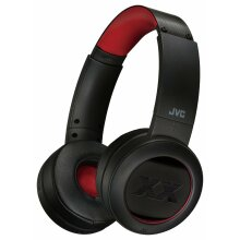 JVC XX HA-XP50 On-Ear Bluetooth Headphones - Black/Red - Refurbished
