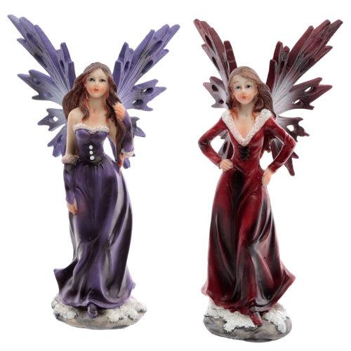 Decorative Snow Fairy - Spirit of Winter - Set of 2