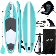 10ft/3m Inflatable Stand Up Paddle Board | SUP Surfing Paddleboard Kit