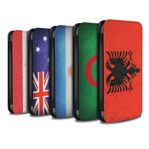 Flags Samsung Galaxy J5 2016 Phone Case Wallet Flip Faux PU Leather Cover for Samsung Galaxy J5 2016