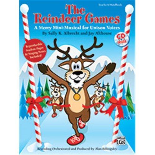 Alfred 00-34716 REINDEER GAMES, THE-BK&CD