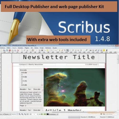 Desktop publishing web authoring development image editor and FTP DTP