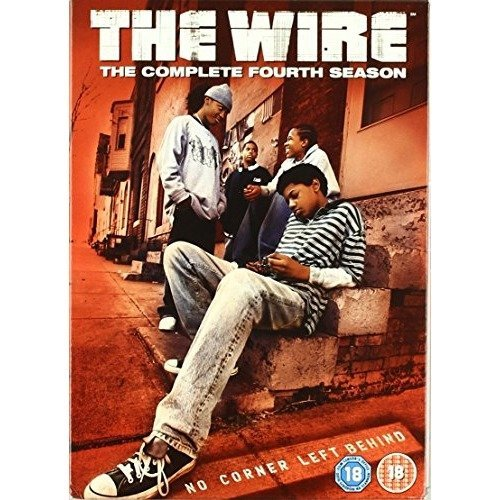 The Wire Season 4 DVD [2008]
