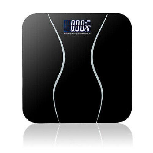 Digital Electronic Scale Toughened Glass Bodys Measures Weight 180kg