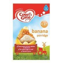 Cow & Gate Banana Porridge 4-6m 125g