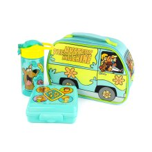 Scooby-Doo Lunchbox Mystery Machine Lunch Bag Bottle and Snack Pot Set