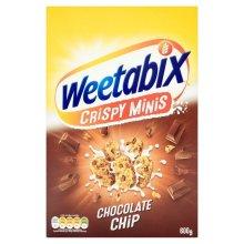 Weetabix - Crispy Minis - Chocolate Chip - 600g