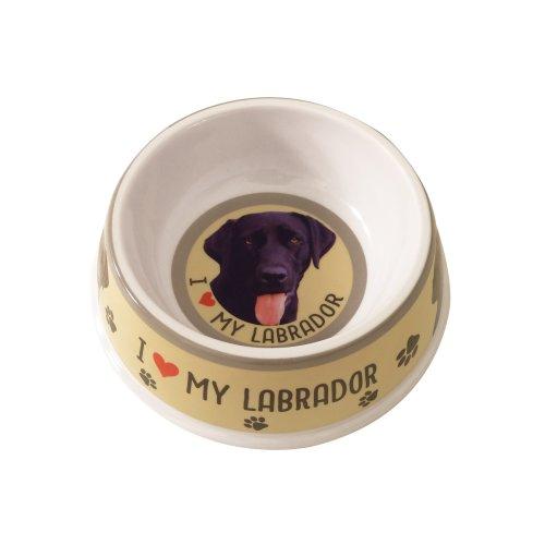 Black Labrador Dog Bowl