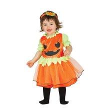 Toddlers Baby Pumpkin Halloween Fancy Dress Costume 6-12 months
