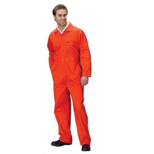 """Click PCBSHWOR36 Super Polycotton Boiler Suit Orange 36"""""""