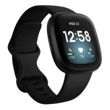 Fitbit Versa 3 Smartwatch - Black   Fitness Tracking Watch