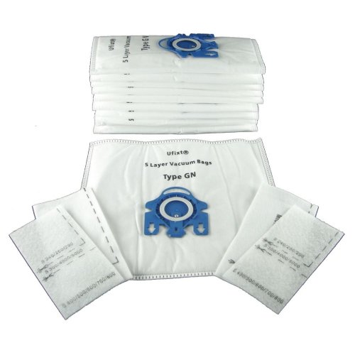 Pack Of 10 Miele TT5000 Vacuum Bags Type GN *Free Delivery*