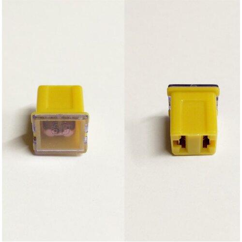 J Case Type Female Fuse 60 Amp Jcase Cartridge Low Profile Car Auto Cable Fuse