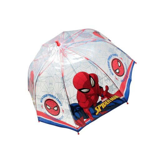 Spider-Man Childrens/Kids Stick Umbrella