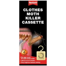 Rentokil FM41 Moth Killer Cassette Pack of 4